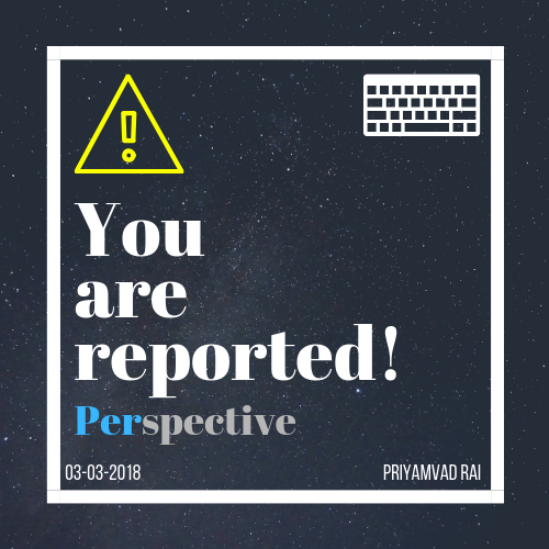 You are reported!