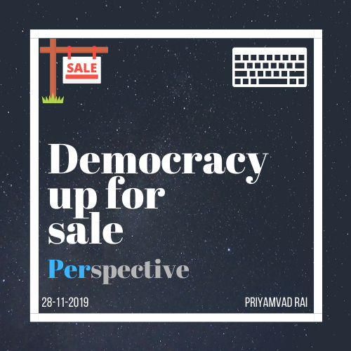 Democracy up for sale